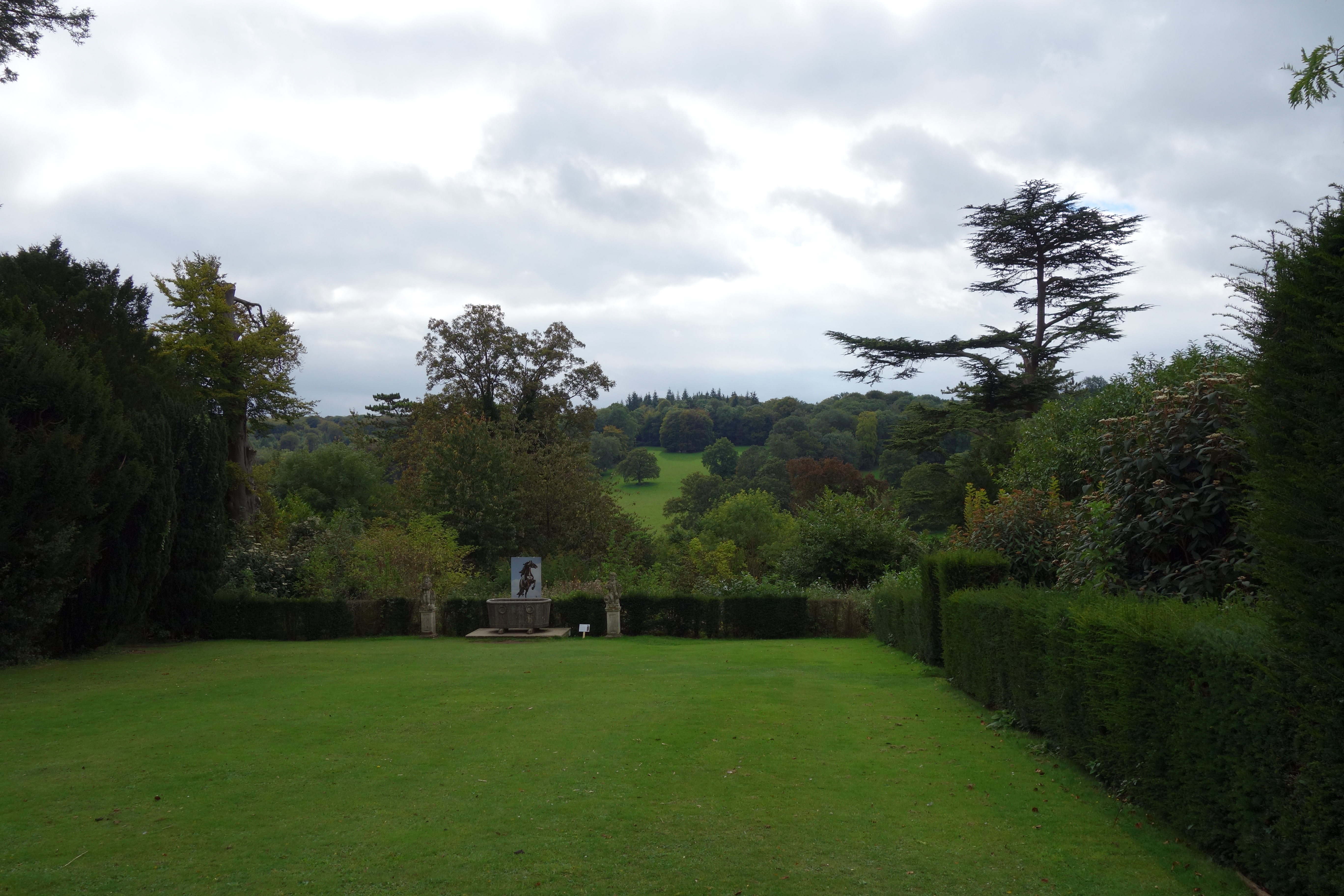 Polesden Lacey view