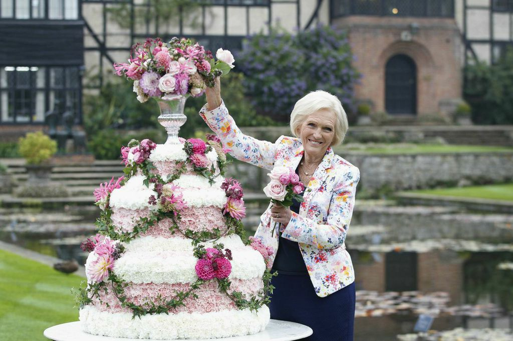 RHS Wisley Flower Show Mary Berry