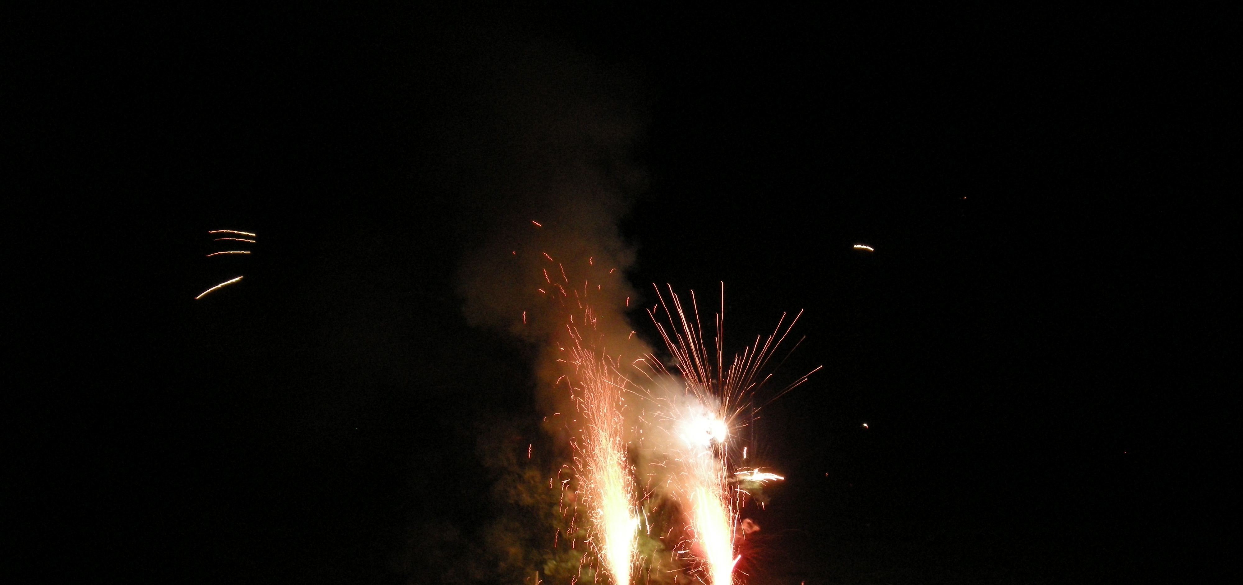 Surrey fireworks display