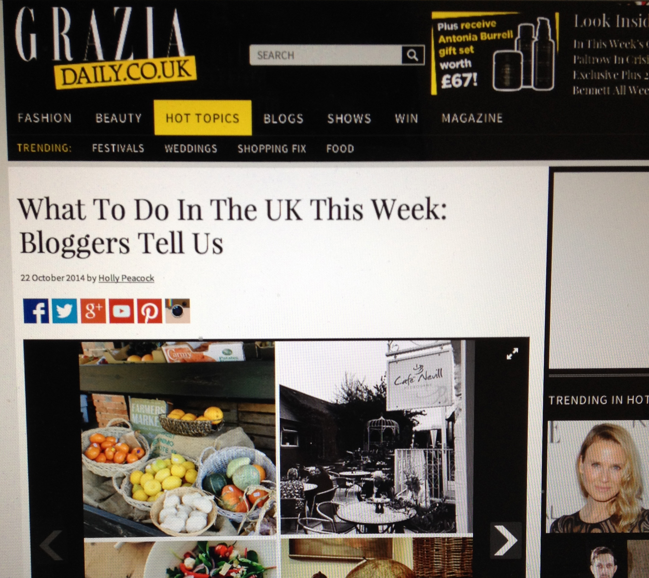 Grazia Bloggers Around the UK Surrey