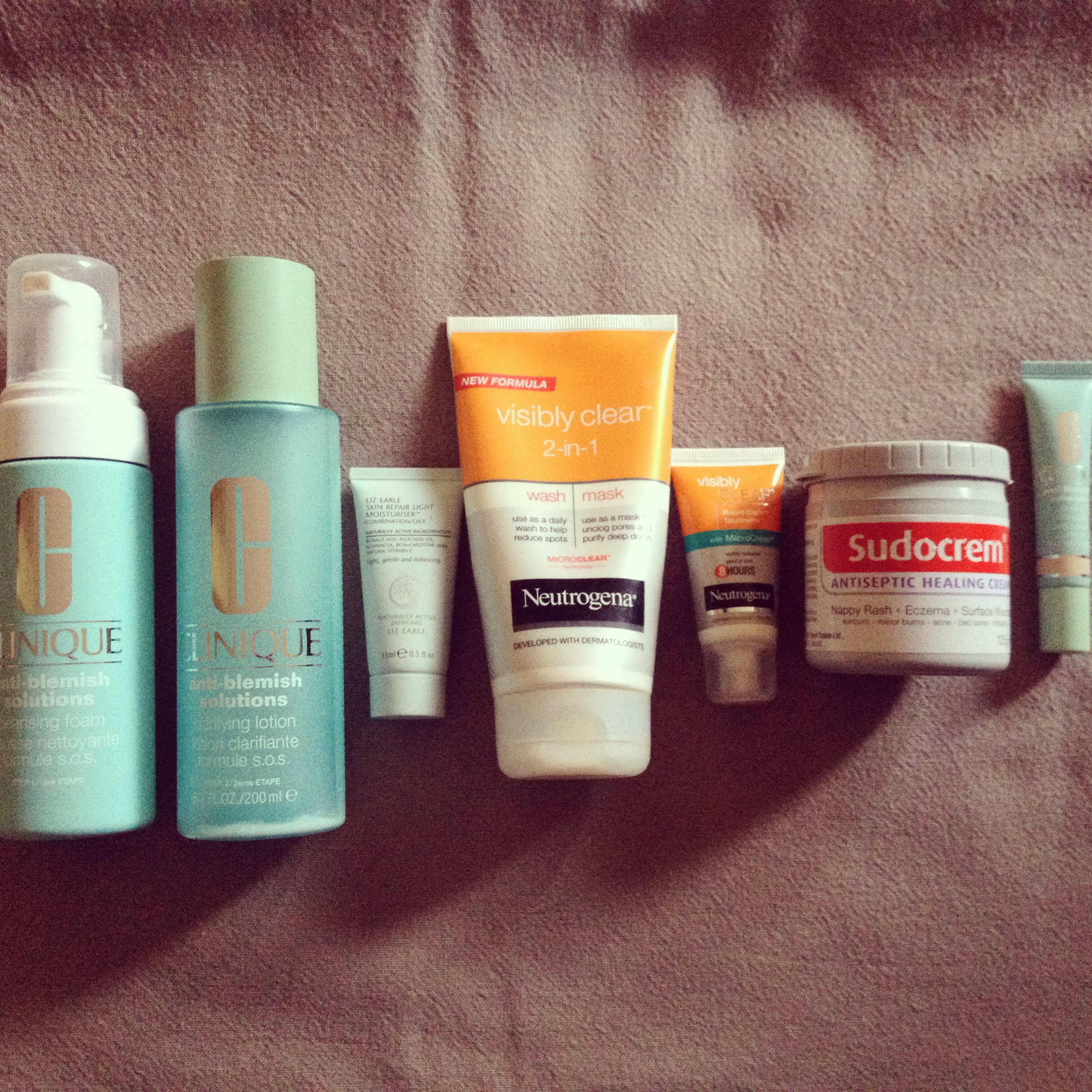 Products for Spot Prone skin