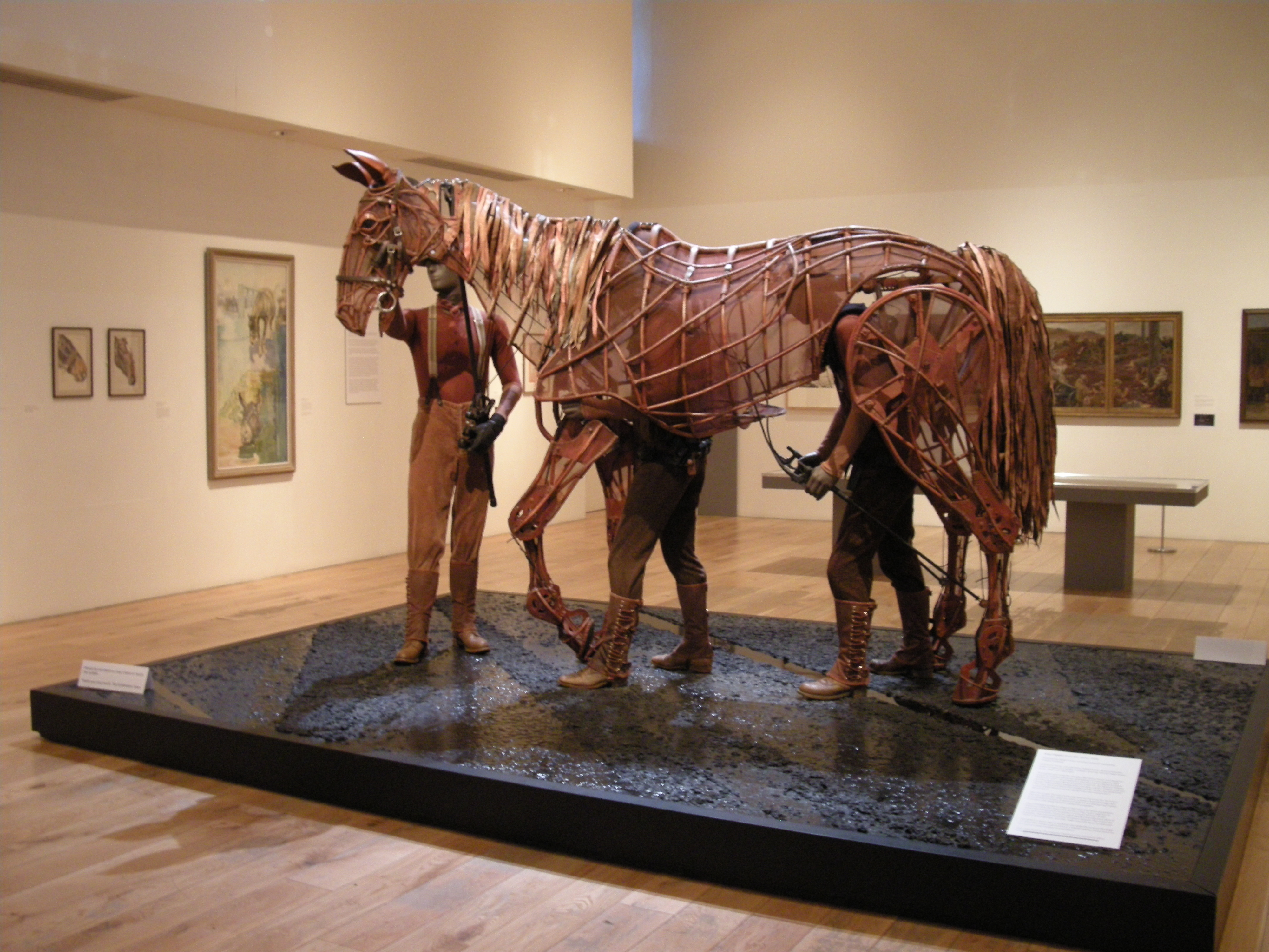 The War Horse puppet