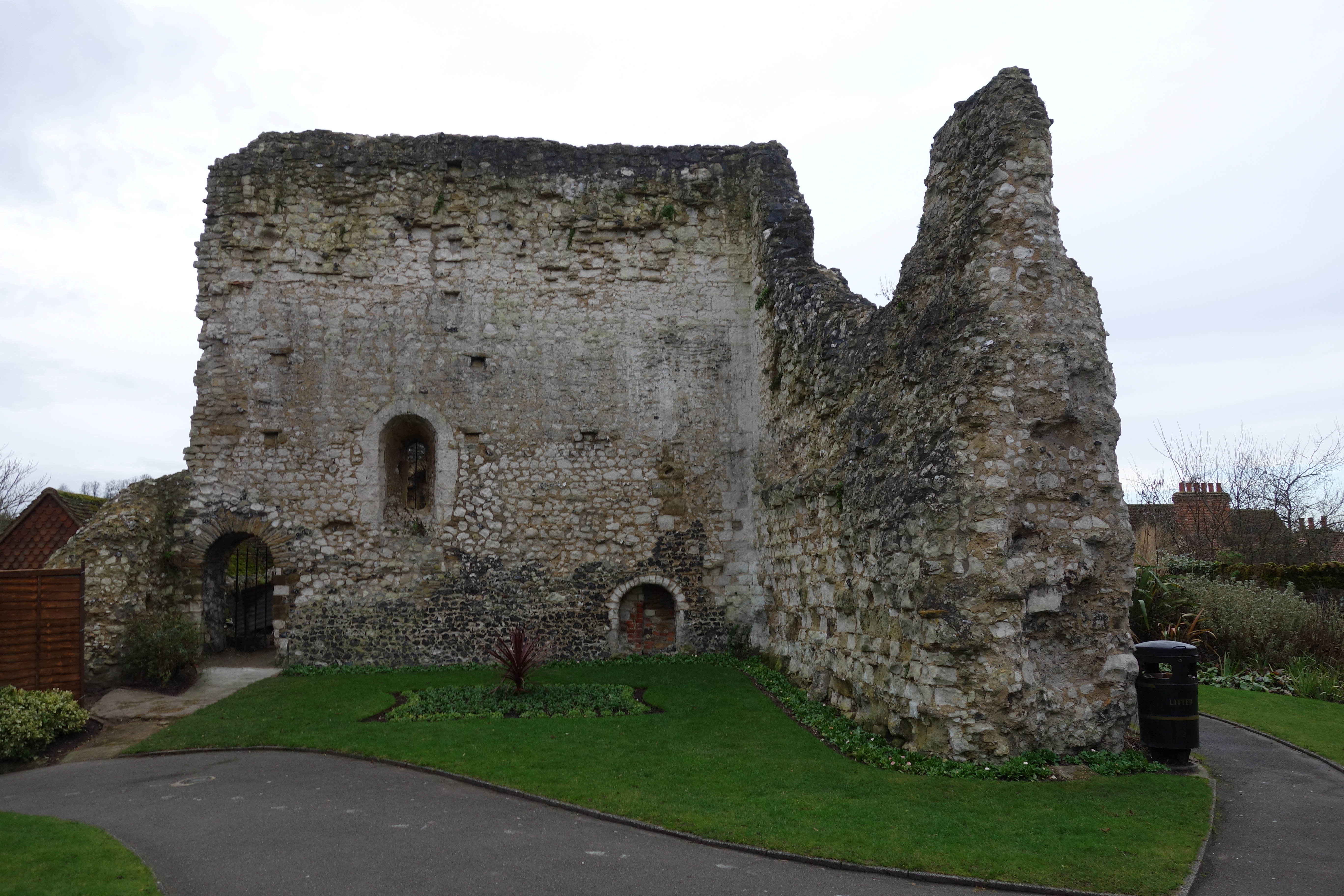 Guildford Castle ruins