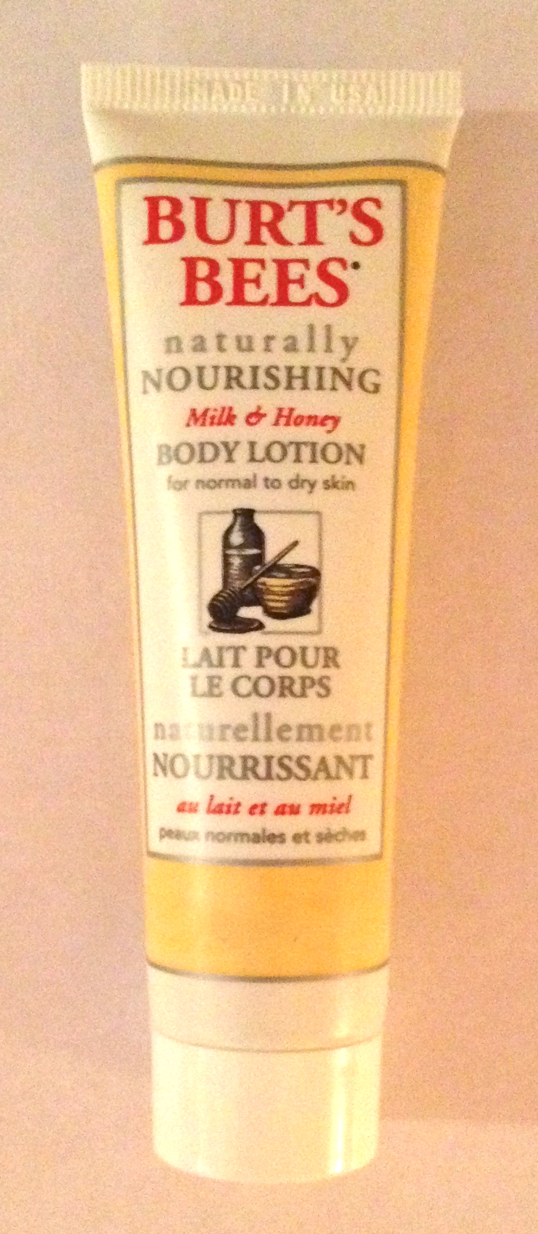 Burt's Bees Milk and Honey Body Lotion review