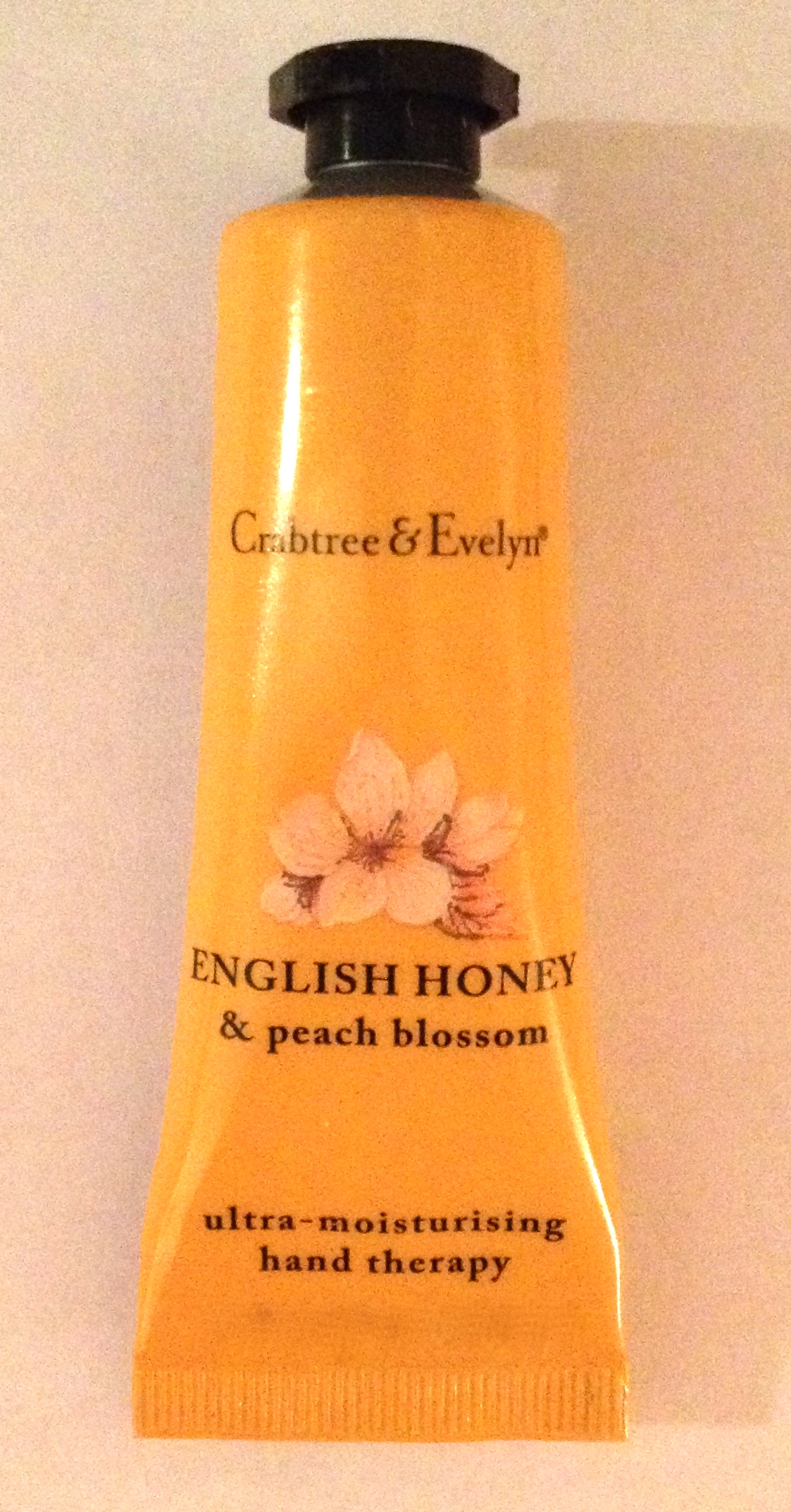 Crabtree and Evelyn Honey and Peach Blossom hand cream