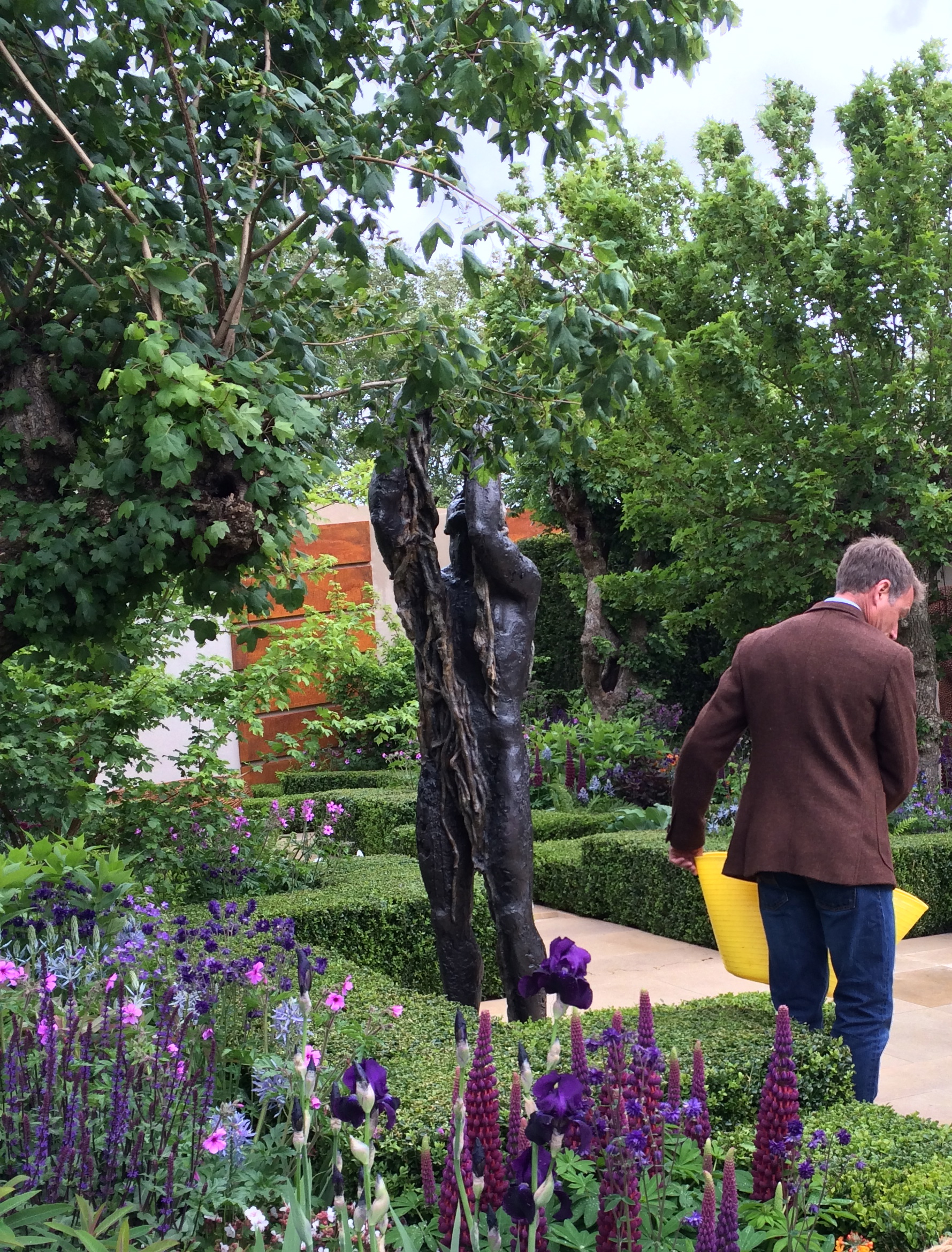 Chris Beardshaw RHS Chelsea Flower Show