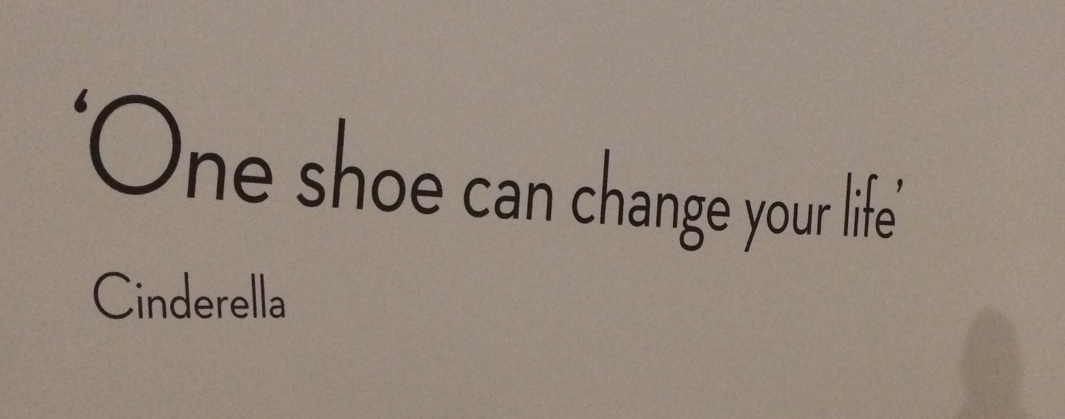 V&A shoes