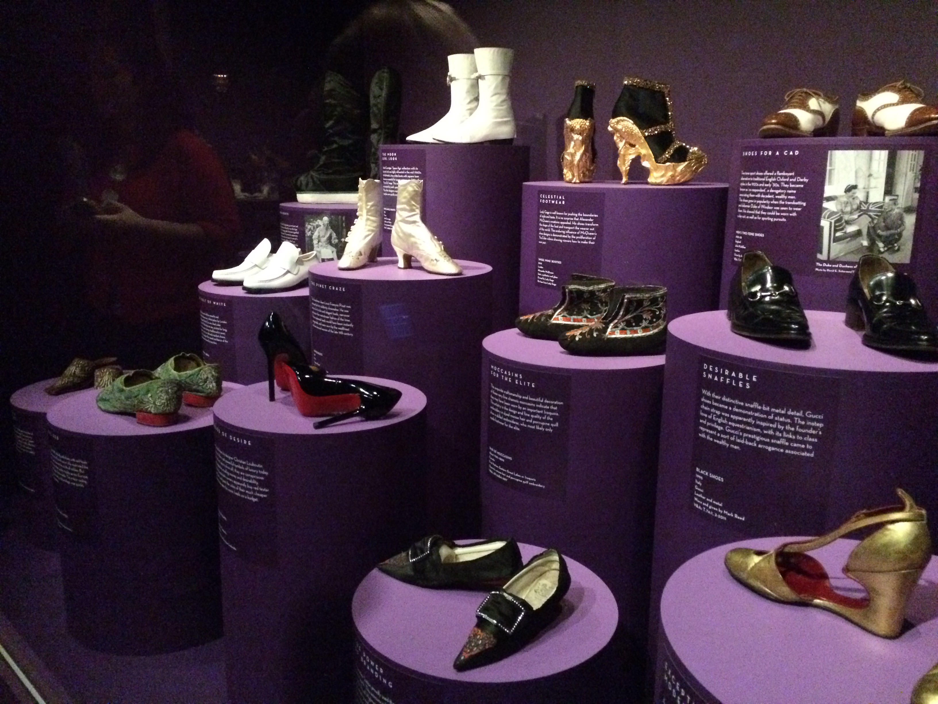 V&A shoes exhibition